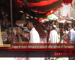 Dates in Much Demand in Karachi After Arrival of Ramadan