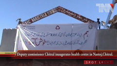 Chitral- Health Center's Opening Ceremony.