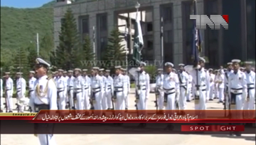 Islamabad- Commander Iraqi Navy Visits Naval Headquarters