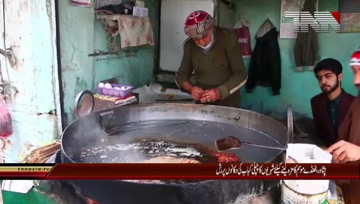Peshawar- Chapli Kabab demand increases due to cold weather