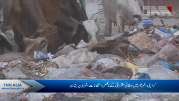 Karachi- Garbage Problem in different Areas, Locals Citizens face problems