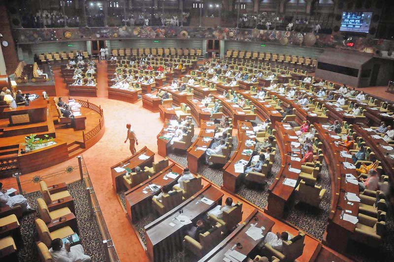 Exchange of harsh words during Sindh Assembly session