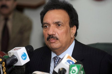 Islamabad- Rahman Malik Demands Provision of Medical Treatment To asif zardari