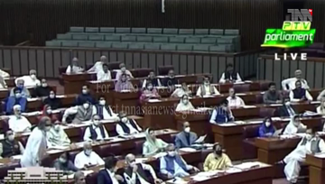 Islamabad- National Assembly passed Anti-Terrorism Amendment Bill during the opposition protests