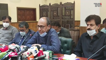 Hyderabad- Won't prioritise education over student health: Saeed Ghani
